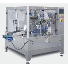 Máquina de embalaje rotativa para gránulos