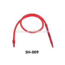 Amy deluxe shisha silicone hose Aluminum tips silicone hose hookah