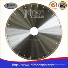 Lame de scie de coupe: lame de scie à diamant brasé argenté de 350 mm (14 po)