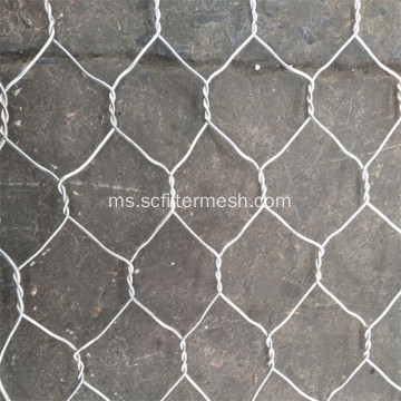 Sampel percuma Galvanized Chicken Hexagonal Wire Mesh Cage