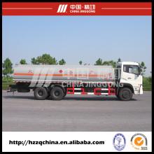 360HP6X4 18500 L SUS para Diesel ligero aceite entrega transporte de tanque de combustible (HZZ5255GJY)