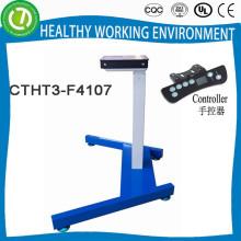 sentado mesa de pé laptop & mesa dobrável pernas & altura mesa de escritório ajustável