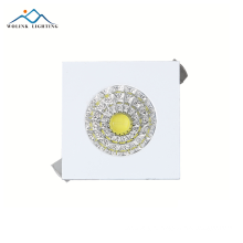 Wolink colour commercial decorative recessed cob square led downlight