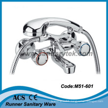 Bathtub Mixer with Fork Rest & Normal Shower (M51-601)