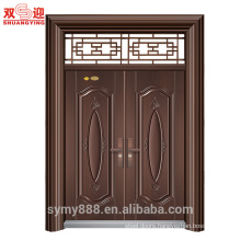 One and half door leaf steel doors hot-selling made in China