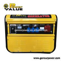 High Quality genset 2kw gasoline generator 110V 230v 380v, swiss kraft power generator