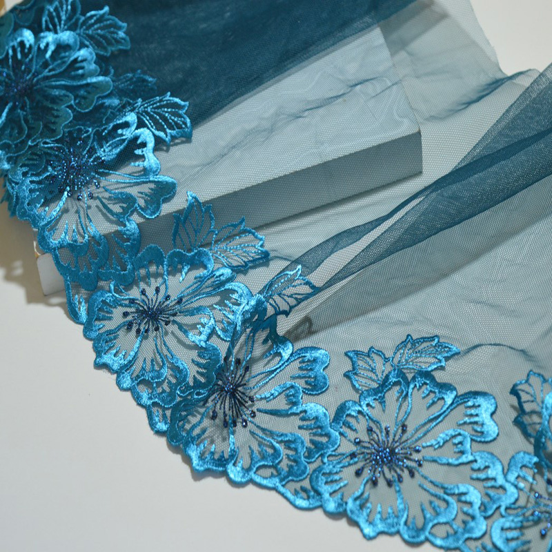 Floral Wedding Embroidery Lace