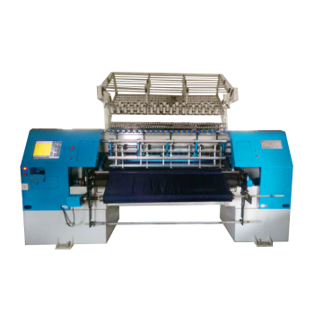 Best quality kw96h lower price high speed multi needle quilting machine three shuttle