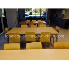 Muebles de comedor industrial / Mesas de comedor de comedor de restaurante y silla (FOH-RT3)