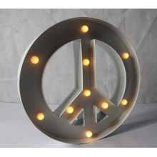 Bulb Light Sign Decoration