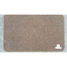 Poliéster Napping superfície tapete de porta