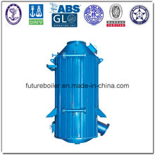 Vertical Marine Exhaust Gas Thermal Oil Boiler