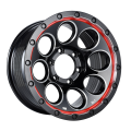 Custom SUV Wheel 16x8 Black Milled