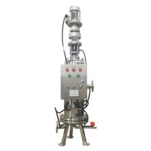 Filtre à eau à cartouche d'acier inoxydable autonettoyant automatique