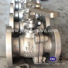 Шаровой клапан 150lb 2inch Wcb Материал