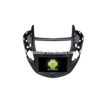 Четырехъядерный!автомобильный DVD с зеркальная связь/видеорегистратор/ТМЗ/obd2 для 8 дюймов сенсорный экран четырехъядерный процессор андроид 4.4 системы Шевроле Trax
