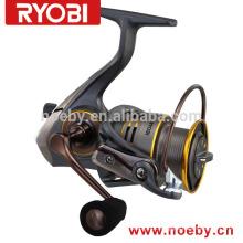 Profissional 2015 novo equipamento de pesca de bobina giratória de peixes OEM