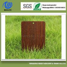 Hersteller Holzkorn Polyester Pulverlackierung