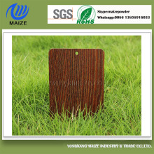 Manufacturer Wood Grain Polyester Powder Coating