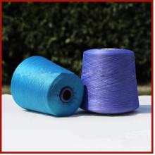 Fil de soie filé à 100% pour le tricotage