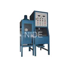 Máquina automática da pintura do revestimento do pó das bobinas do estator