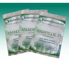 paquete impreso de bolsas de papel de aluminio para línea digital