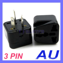 UK/Us/EU Universal to Au Australia 3 Pin Plug Adapter Power Plug Adapter Travel Converter Australia