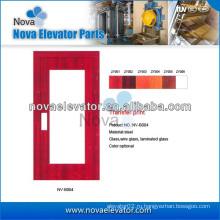 Дверь лифта, Ручная дверь лифта