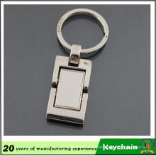 Classic Blank Square Metal Keychain