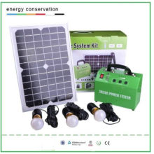 10W Solar Lighting System Kit