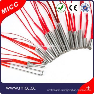 ГИВЦ электрический одиночная головка большой мощности высокой плотности подогреватель картриджа