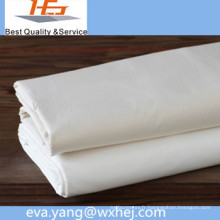 Vente directe d'usine blanc 100 polyester microfibre tissu en vente