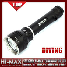 Hi-Max NOUVEAU Torche de plongée CREE XM-L U2 * 3 LED 3800 Lumens Diving Lampe de poche 110085