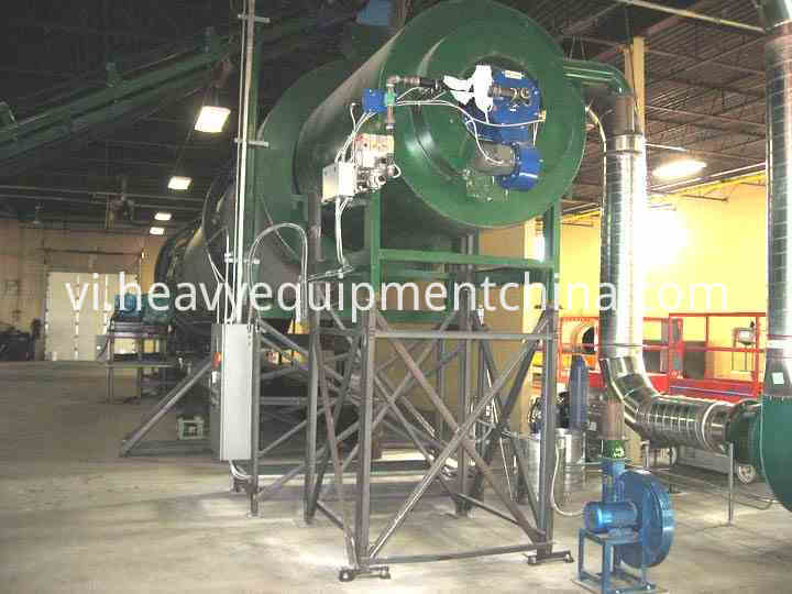 Rotary Dryer For Wood Chips