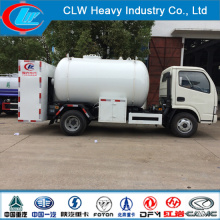 Asme Mini LPG Liquified Petroleum Gas Tank Truck