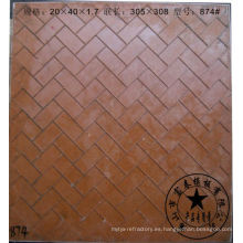 moldes de mosaico de vidrio de resina de fibra
