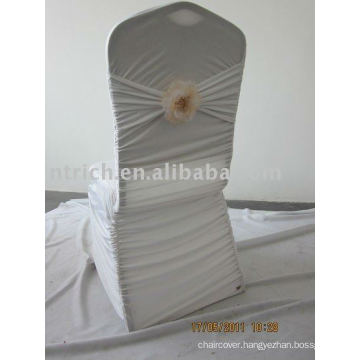 Charming Pleated Spandex Chair Covers