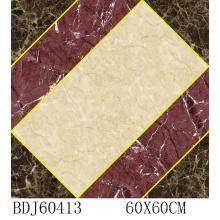 De alta calidad decorar rompecabezas de cerámica con 600X600mm (BDJ60413)