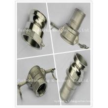 Types d'accouplements de tuyaux d'incendie