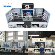 Detian Offer 10x20ft simple aluminum display stand trade show booth