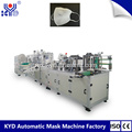 N95 Folding Mask Machine dengan Breather Valve