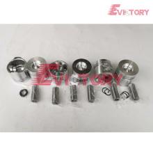 TOYOTA piezas del motor pistón 11Z anillo de pistón