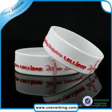 Bracelet de silicone en vrac pour prix promotionnel