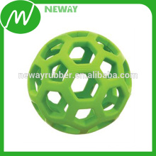 Beautiful Design Colorful Hollow Natural Rubber Ball