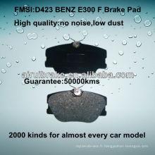 D423 OE QUALITY plaquette de frein à disque basse en métal pour BENZ300 / C260 / E300