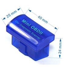 OEM/ODM Super-Mini OBD2 Elm327 Bluetooth Scanner Obdii Elm 327 V2. 1 Auto Diagnose-Tool arbeiten auf Android Windows