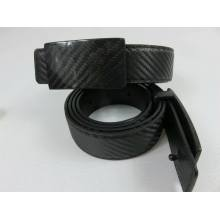 Matt finish carbon fiber belt