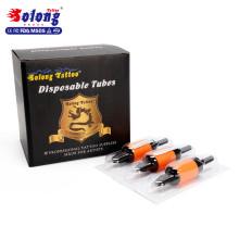"Fabrik Preis Solong G510-3DT EO Gas Klare Tipps 1 ""(25mm) Tattoo Kunststoffgriff"