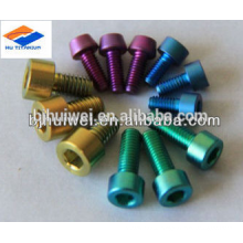 price for titanium Gr5 screw with various color
