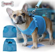 Fabrik Preis Hundehalsband Leine Mesh Led Hundehalsband Soft Bequeme Hundehalsband Haustier Harness